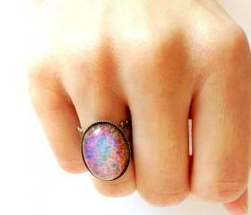Fire Opal Ring